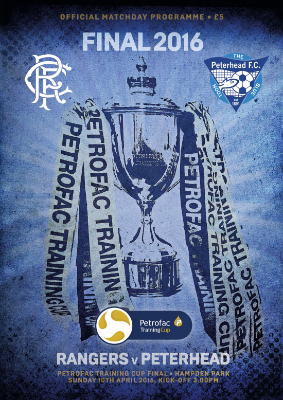 2016 SCOTTISH PETROFAC TRAINING CUP FINAL - RANGERS v PETERHEAD