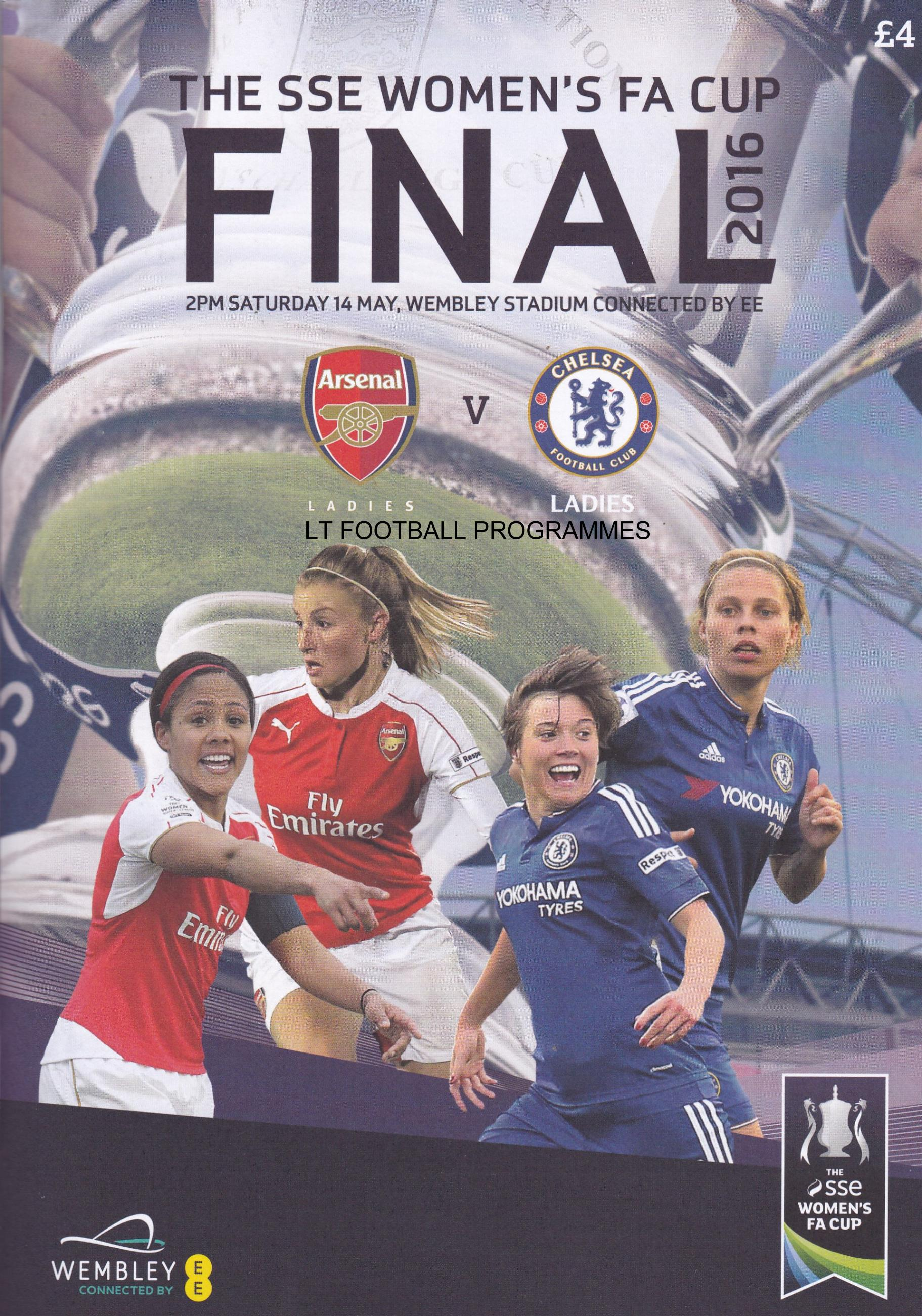 2016 WOMENS FA CUP FINAL - CHELSEA v ARSENAL