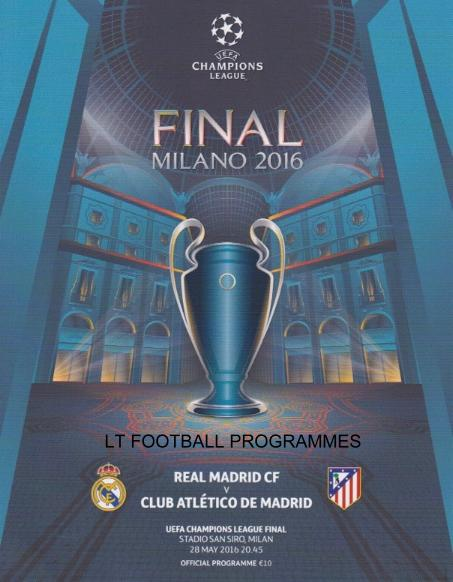 2016 CHAMPIONS LEAGUE FINAL - ATLETICO MADRID v REAL MADRID