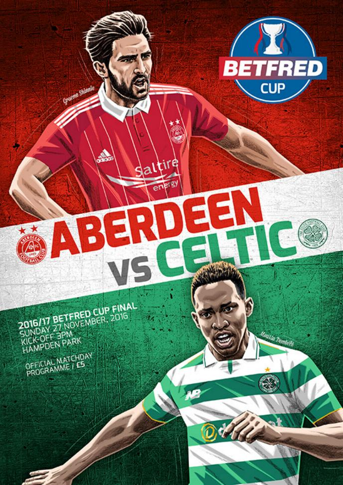 2016/17 SCOTTISH LEAGUE CUP FINAL - ABERDEEN v CELTIC