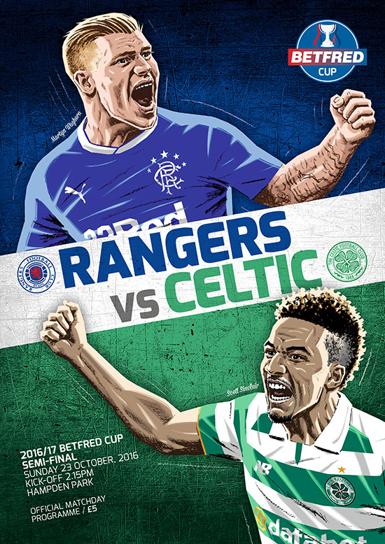 2016/17 SCOTTISH LEAGUE CUP SEMI-FINAL - CELTIC v RANGERS