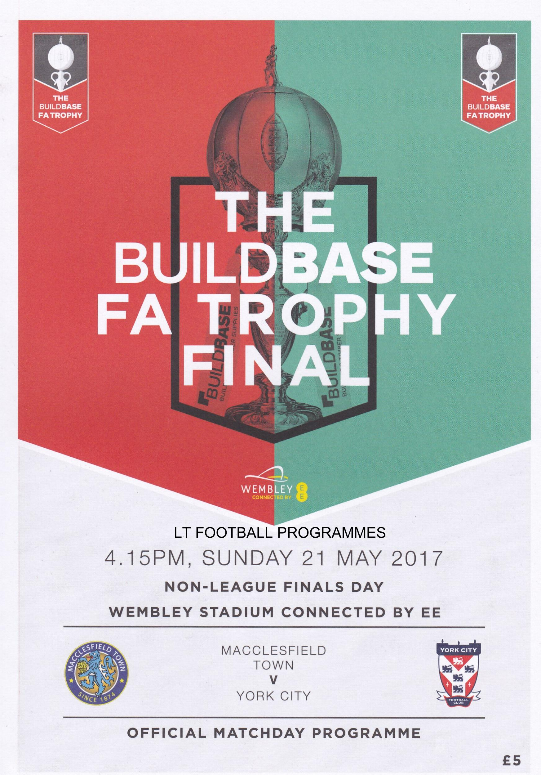 2017 FA VASE & FA TROPHY FINALS (Joint Programme)