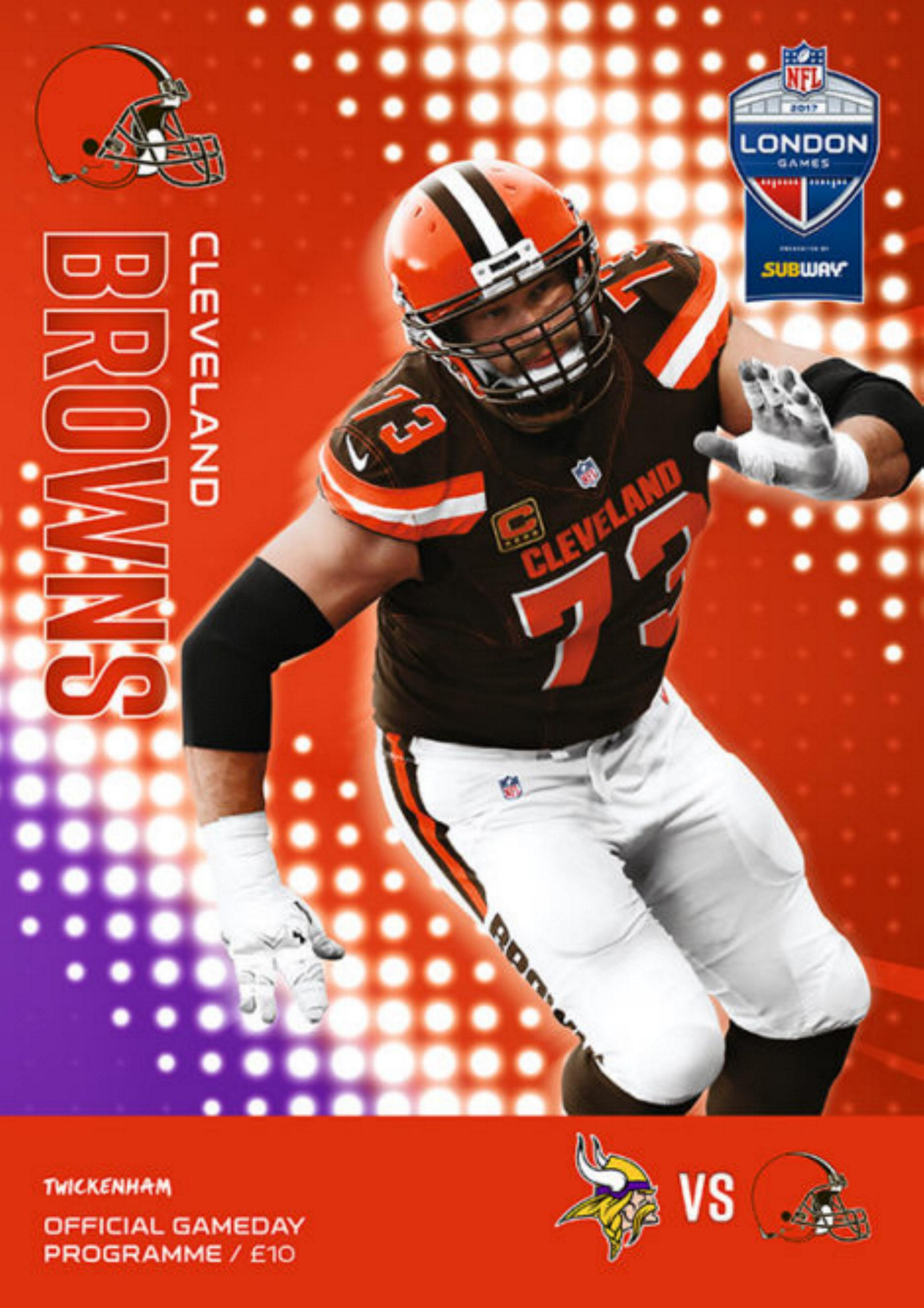 2017 NFL (IN LONDON) - CLEVELAND BROWNS v MINNESOTA VIKINGS