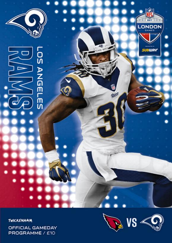 2017 NFL (IN LONDON) - LA RAMS v ARIZONA CARDINALS
