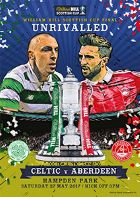 2017 SCOTTISH CUP FINAL - ABERDEEN v CELTIC