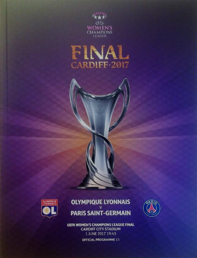 2017 WOMENS CHAMPIONS LEAGUE FINAL - LYON v PARIS ST GERMAIN