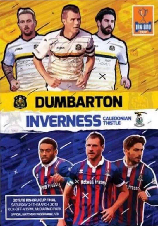 2018 SCOTTISH CHALLENGE CUP FINAL - DUMBARTON v INVERNESS CT