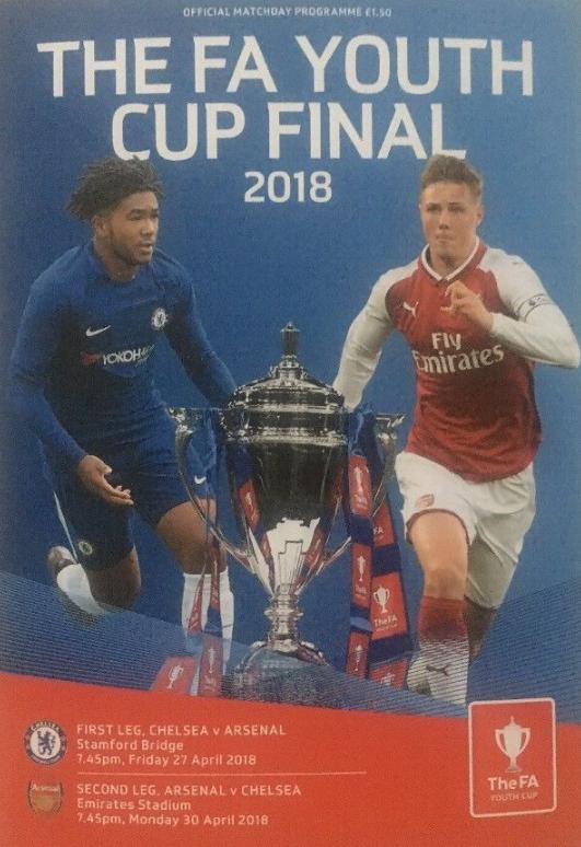2018 FA YOUTH CUP FINAL - CHELSEA v ARSENAL (BOTH LEGS)