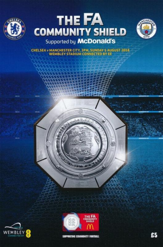 2018 COMMUNITY SHIELD - MAN CITY v CHELSEA