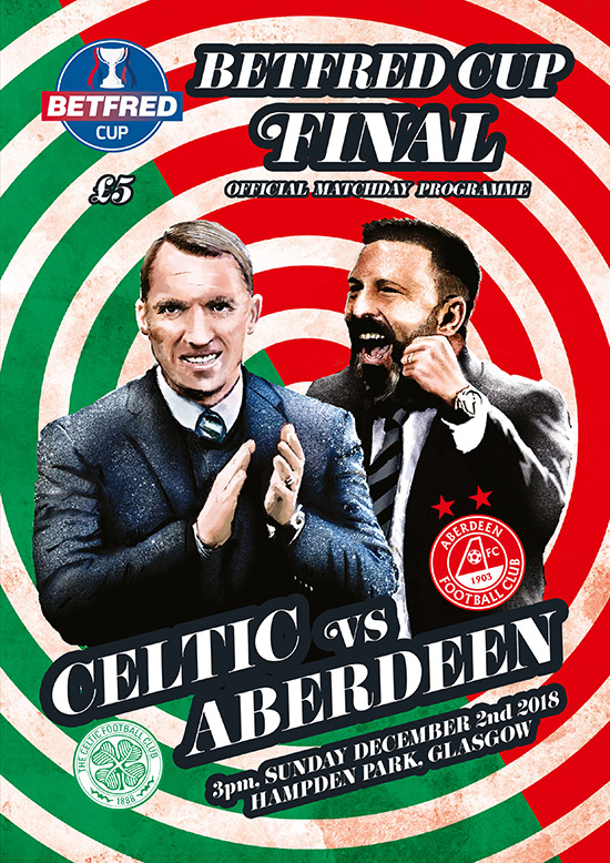 2018/19 SCOTTISH LEAGUE CUP FINAL - ABERDEEN v CELTIC