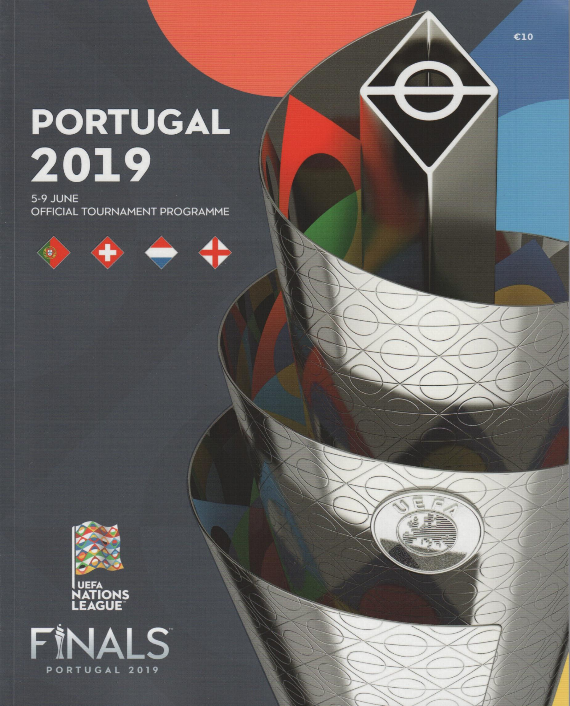 2019 UEFA NATIONS LEAGUE FINALS - OFFICIAL TOURNAMENT PROGRAMME