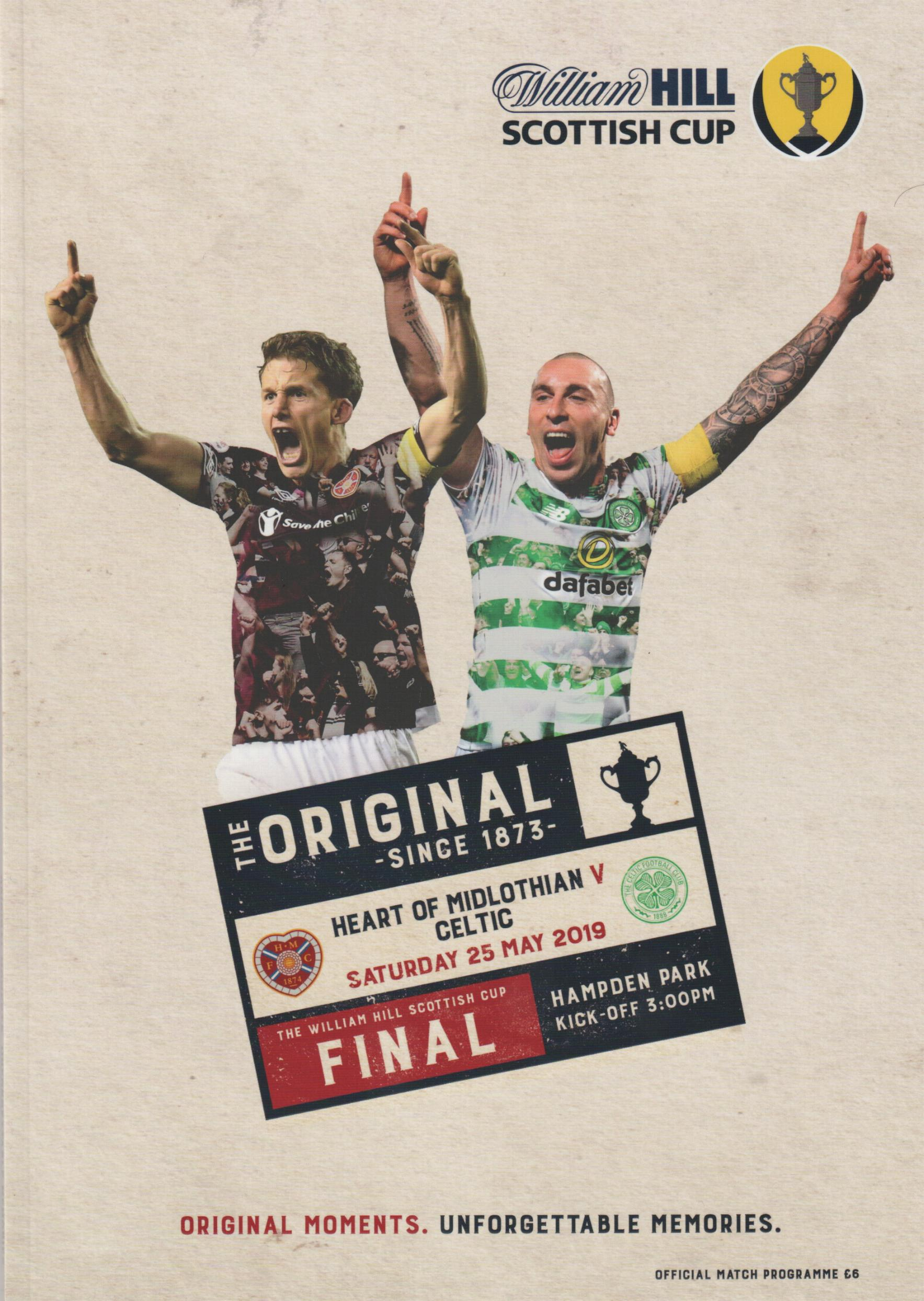 2019 SCOTTISH CUP FINAL - CELTIC v HEARTS