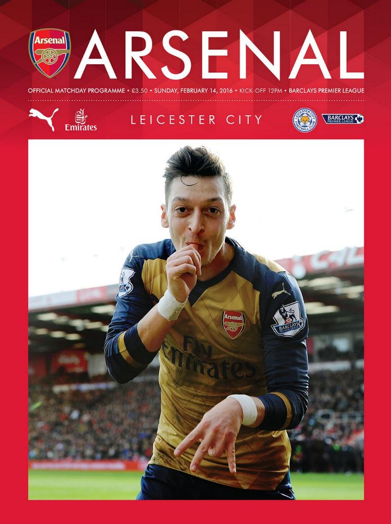 ARSENAL v LEICESTER CITY 2015/16