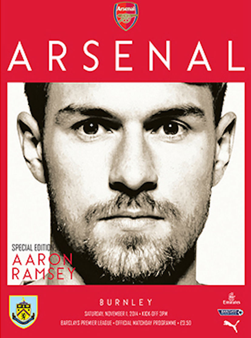 ARSENAL v BURNLEY 2014/15