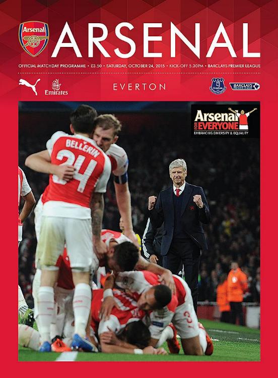 ARSENAL v EVERTON 2015/16