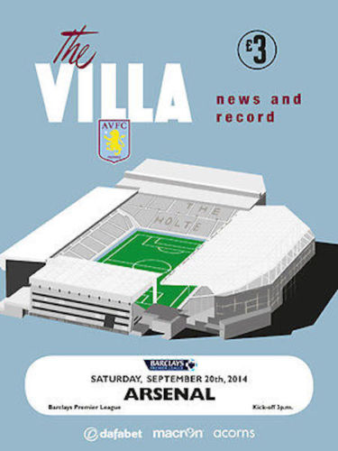 ASTON VILLA v ARSENAL 2014/15