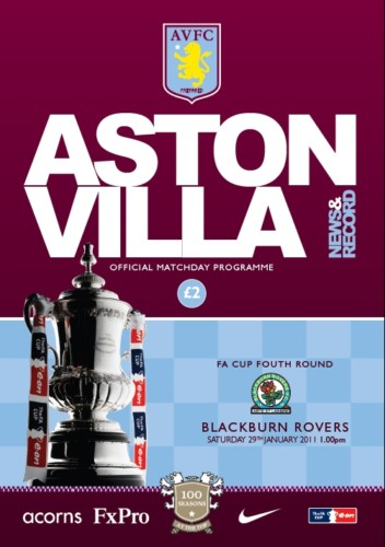ASTON VILLA v BLACKBURN ROVERS 2010/11 (FA CUP)