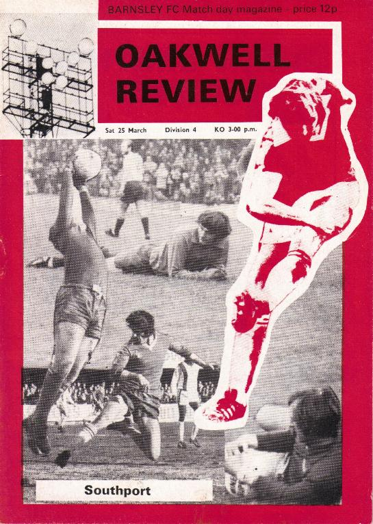 1977/78 - BARNSLEY v SOUTHPORT (FINAL SEASON IN LEAGUE)
