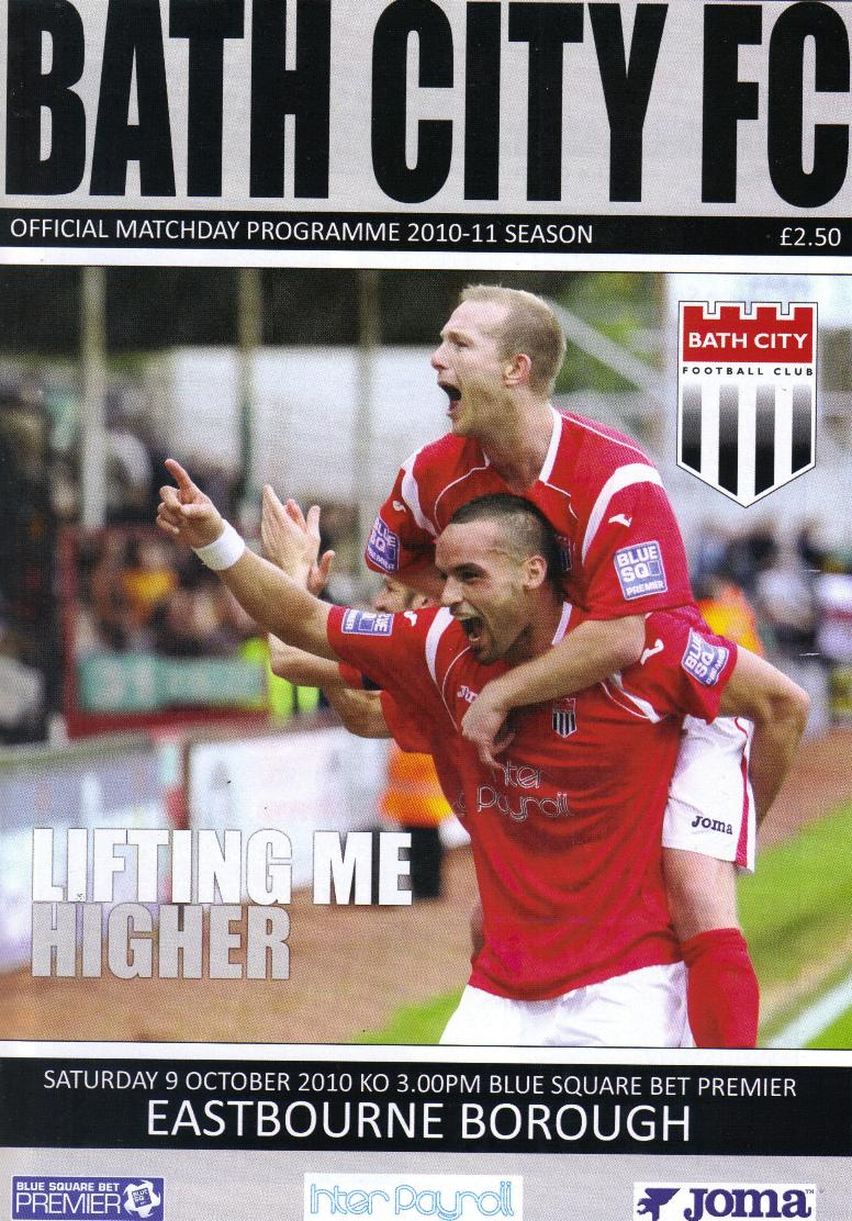BATH CITY v EASTBOURNE BOROUGH 2010/11