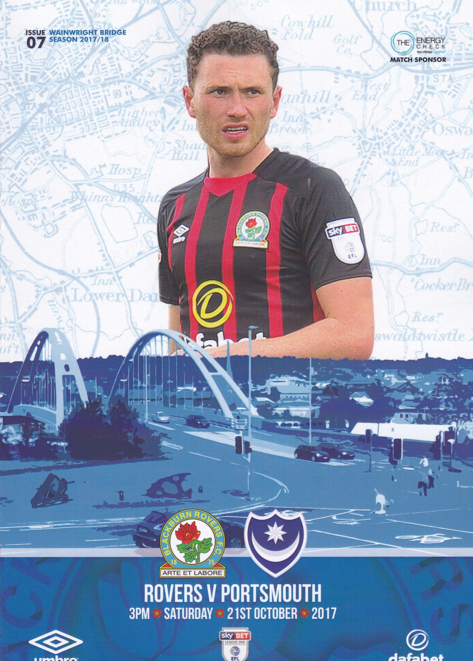 BLACKBURN ROVERS v PORTSMOUTH 2017/18