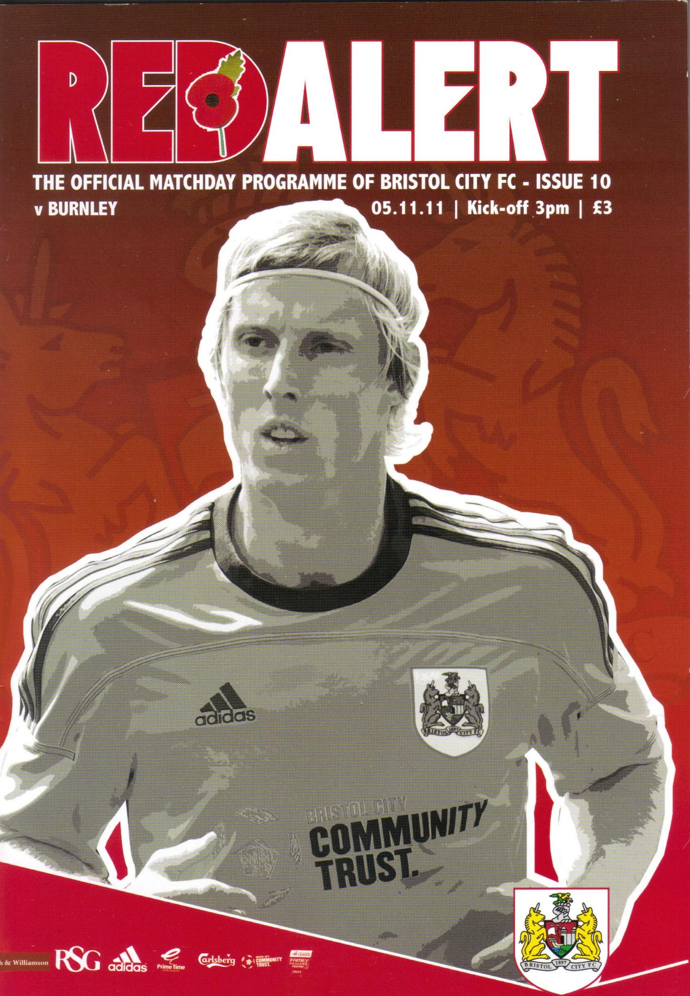 BRISTOL CITY v BURNLEY 2011/12