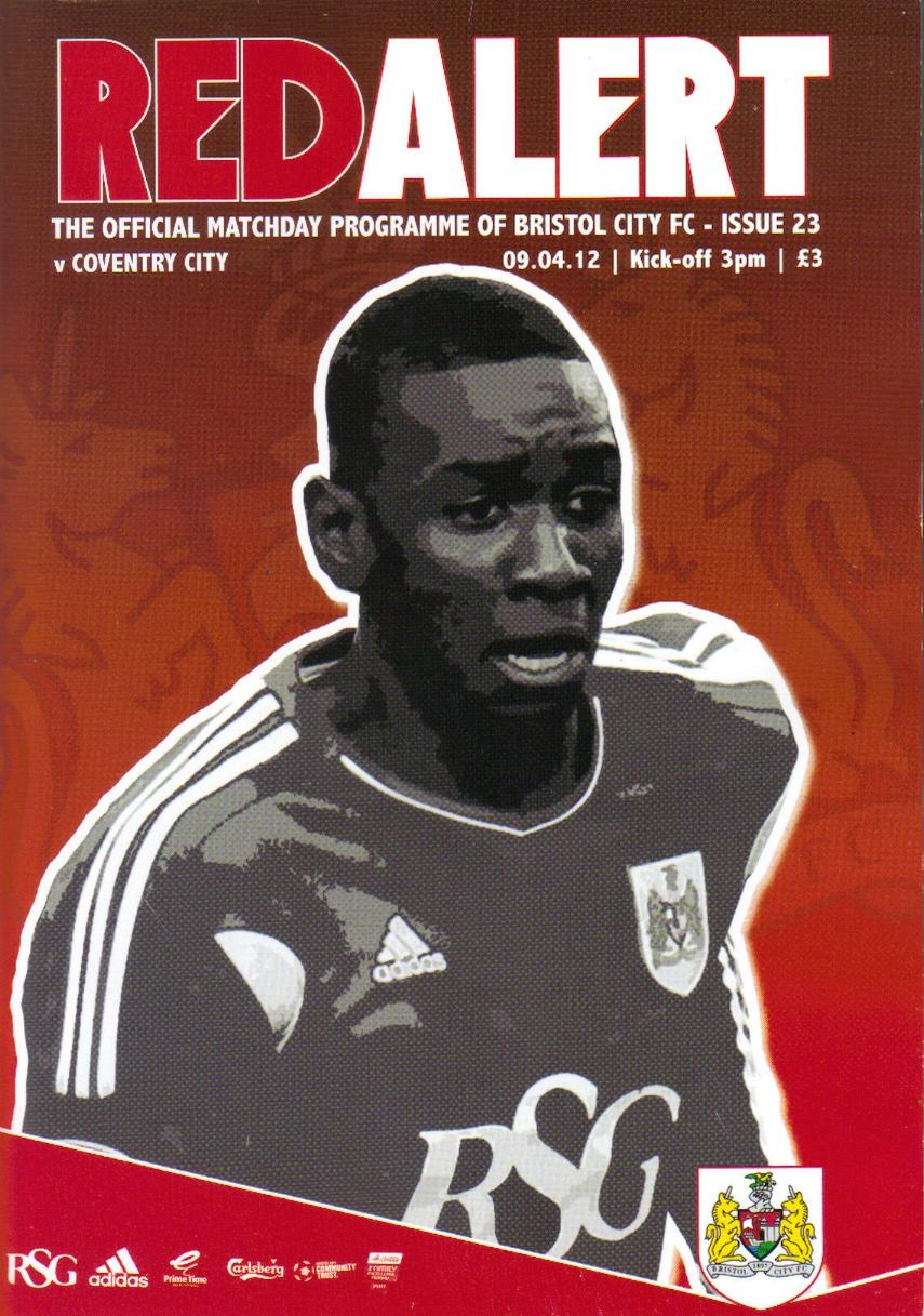 BRISTOL CITY v COVENTRY CITY 2011/12