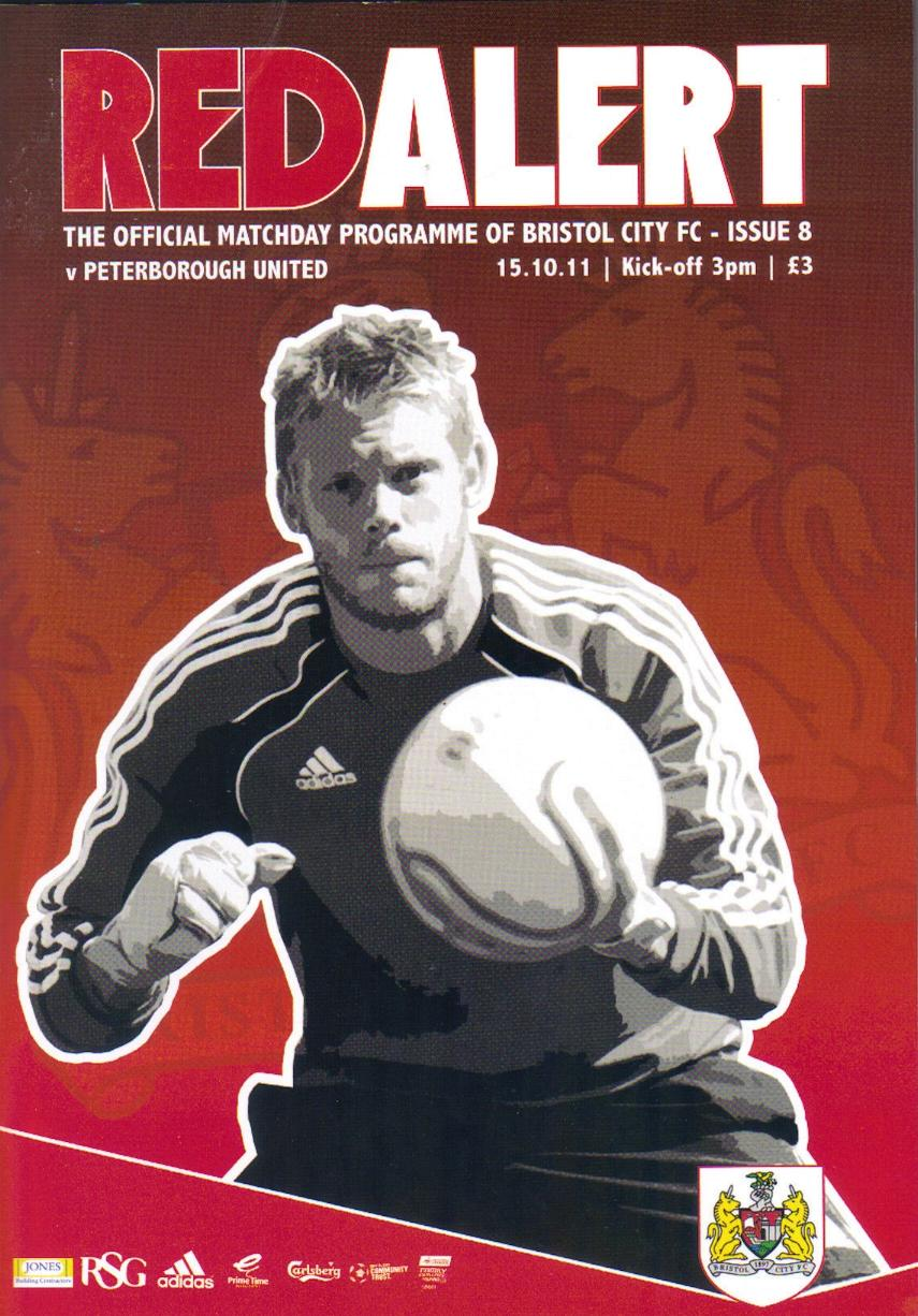 BRISTOL CITY v PETERBOROUGH 2011/12