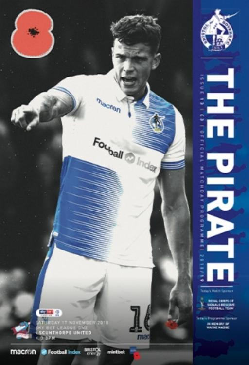 BRISTOL ROVERS v SCUNTHORPE UNITED 2018/19