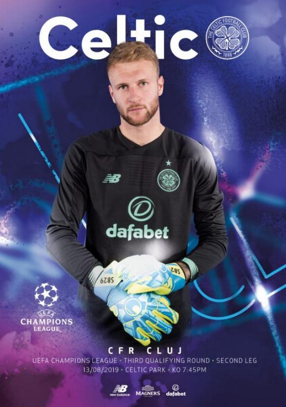 2019/20 CHAMPIONS LEAGUE - CELTIC v CLUJ