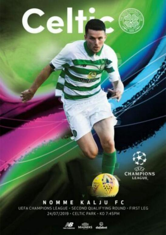 2019/20 CHAMPIONS LEAGUE - CELTIC v NOMME KALJU