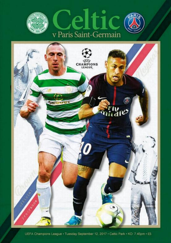 2017/18 CHAMPIONS LEAGUE - CELTIC v PSG