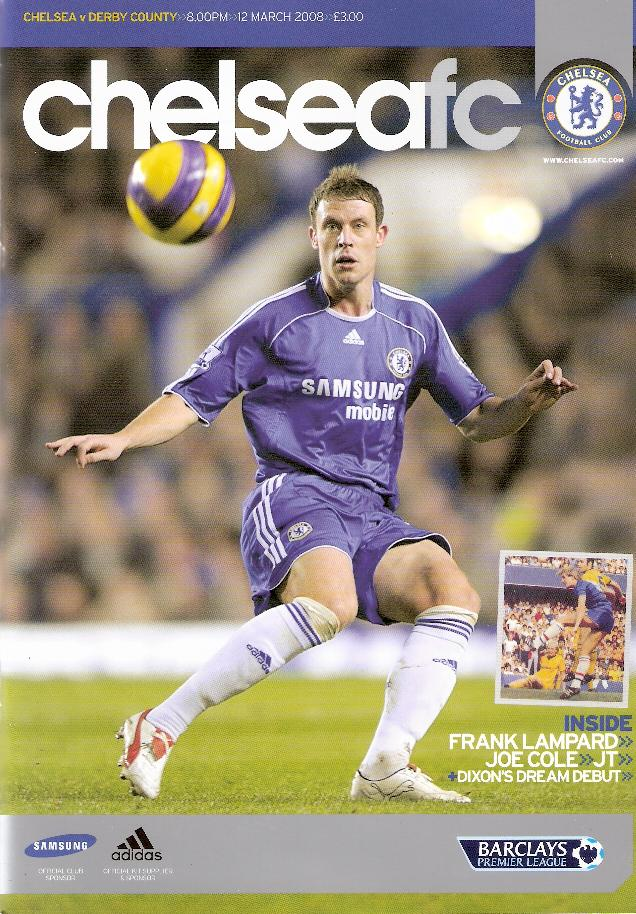 CHELSEA v DERBY COUNTY 2007/08