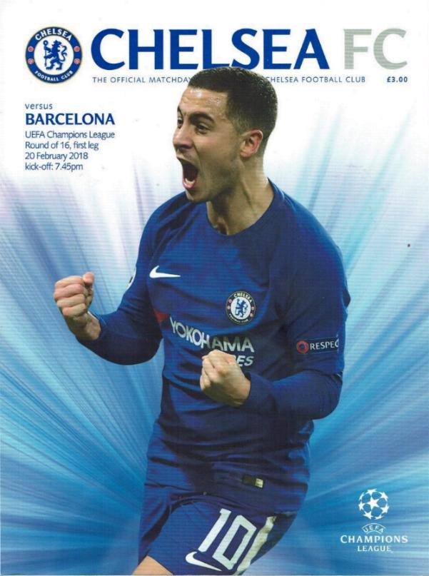 2017/18 CHAMPIONS LEAGUE - CHELSEA v BARCELONA