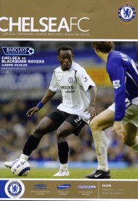 CHELSEA v BLACKBURN ROVERS 2005/06
