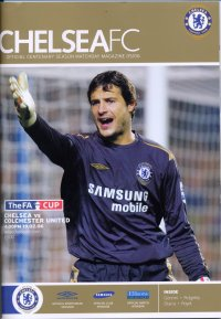 CHELSEA v COLCHESTER UNITED 2005/06 (FA CUP)