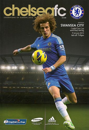 2013 CAPITAL ONE CUP SEMI-FINAL - CHELSEA v SWANSEA CITY