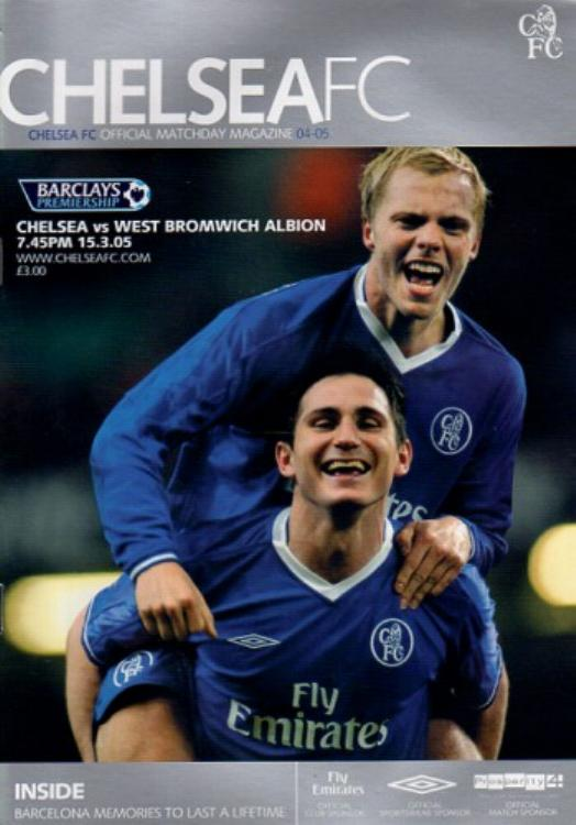 2004/05 - CHELSEA v WEST BROM