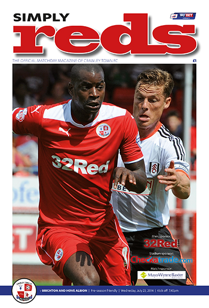 CRAWLEY TOWN v BRIGHTON 2014/15 (FRIENDLY)