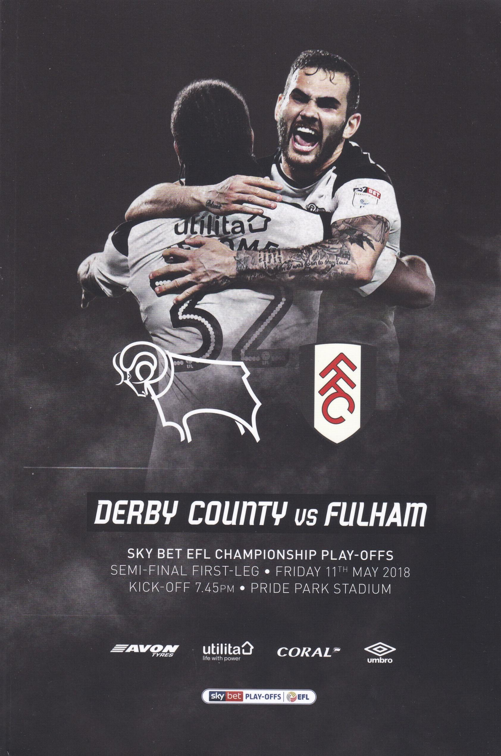 2018 PLAY-OFF SEMI-FINAL - DERBY COUNTY v FULHAM
