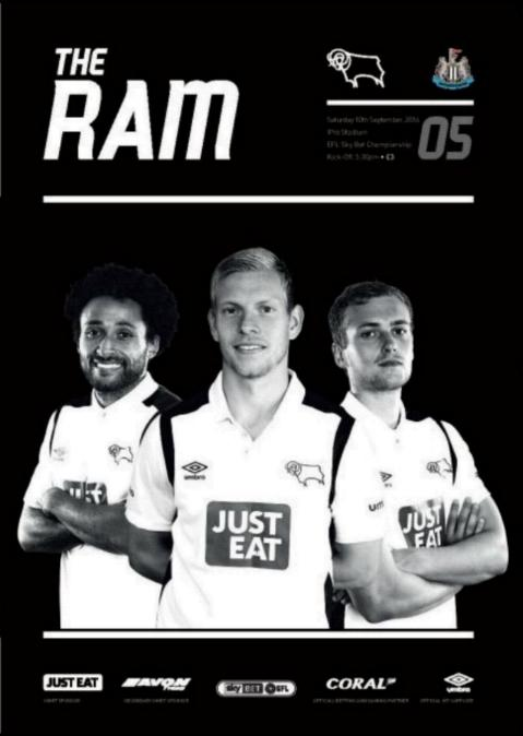 DERBY COUNTY v NEWCASTLE UNITED 2016/17