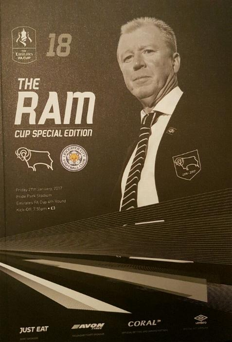 DERBY COUNTY v LEICESTER CITY 2016/17 (FA CUP)