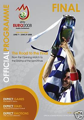 EURO 2008 FINAL - GERMANY v SPAIN