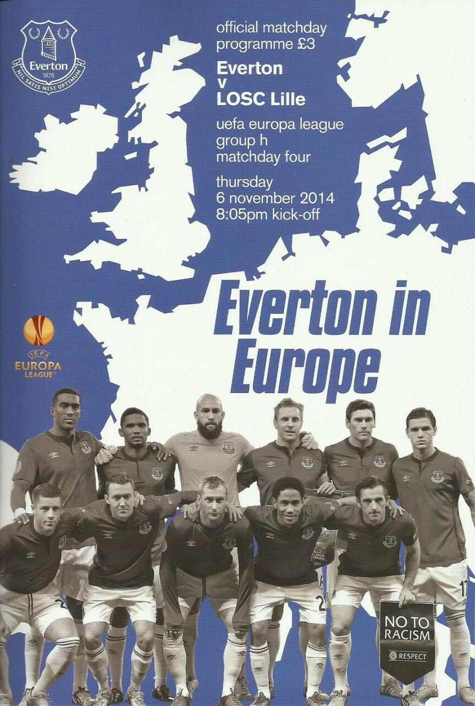 2014/15 EUROPA LEAGUE - EVERTON v LILLE