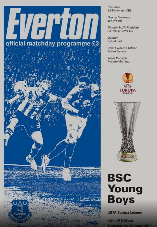 2014/15 EUROPA LEAGUE - EVERTON v YOUNG BOYS