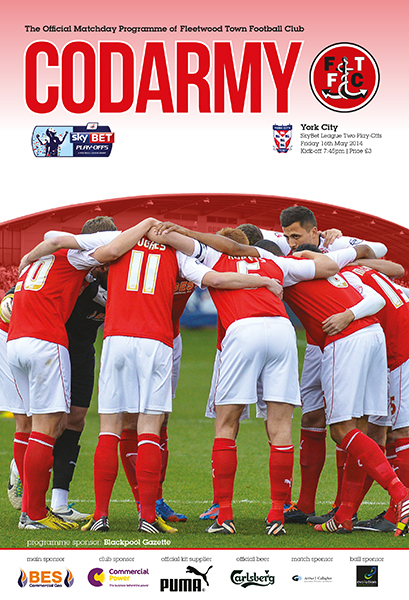 2014 PLAY-OFF SEMI-FINAL - FLEETWOOD TOWN v YORK CITY
