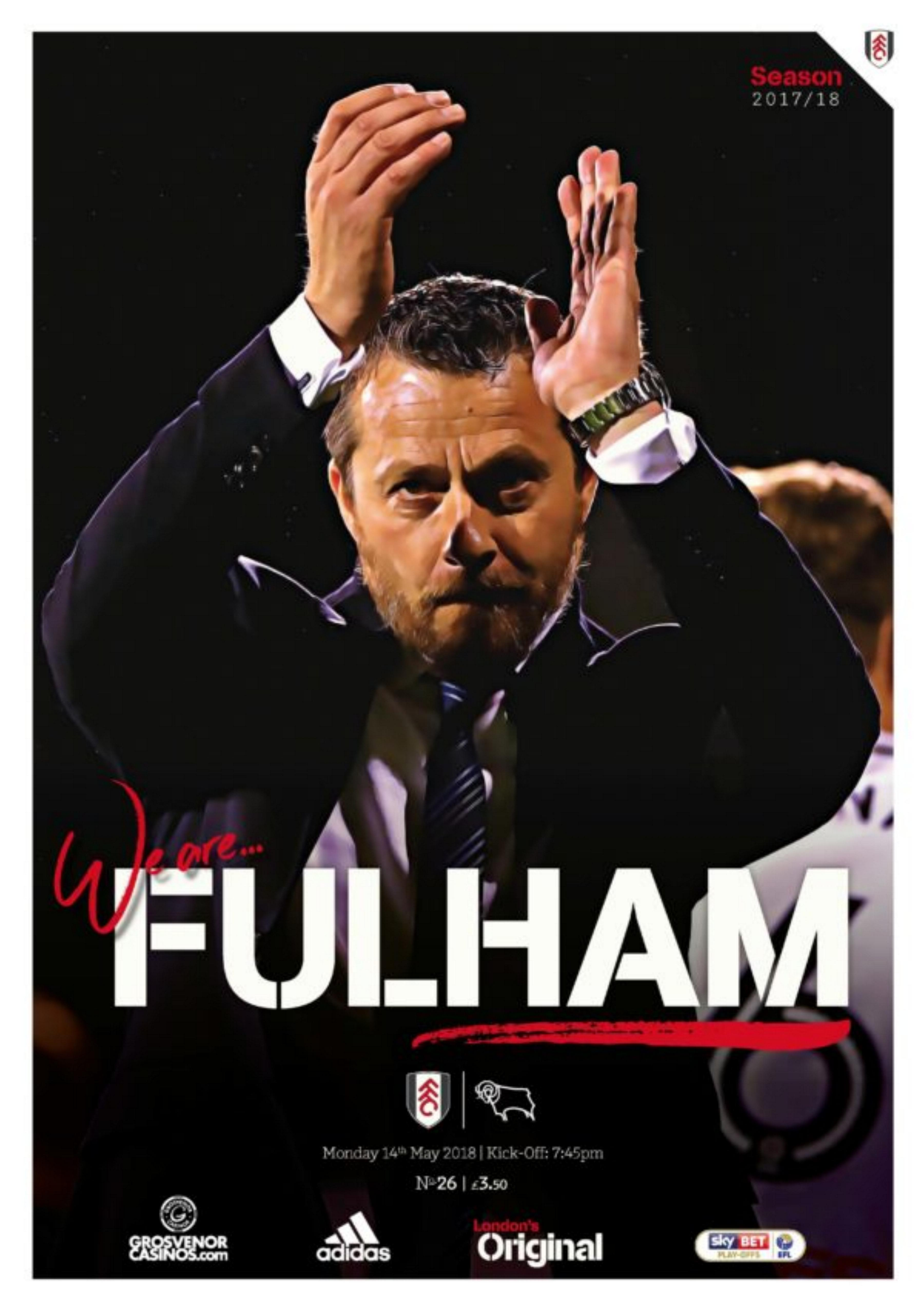 2018 PLAY-OFF SEMI-FINAL - FULHAM v DERBY COUNTY