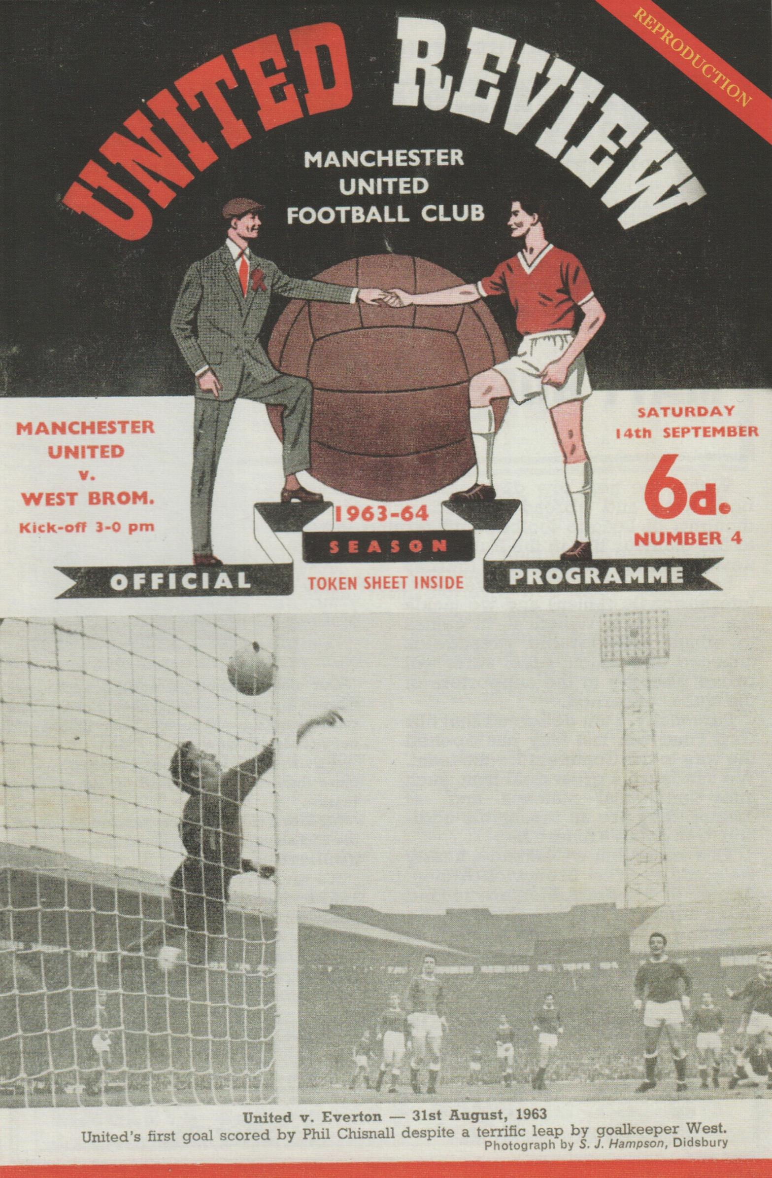 1963 - GEORGE BEST DEBUT - MAN UTD v WEST BROM
