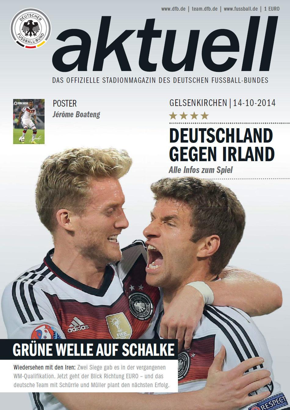2014 - GERMANY v REPUBLIC OF IRELAND
