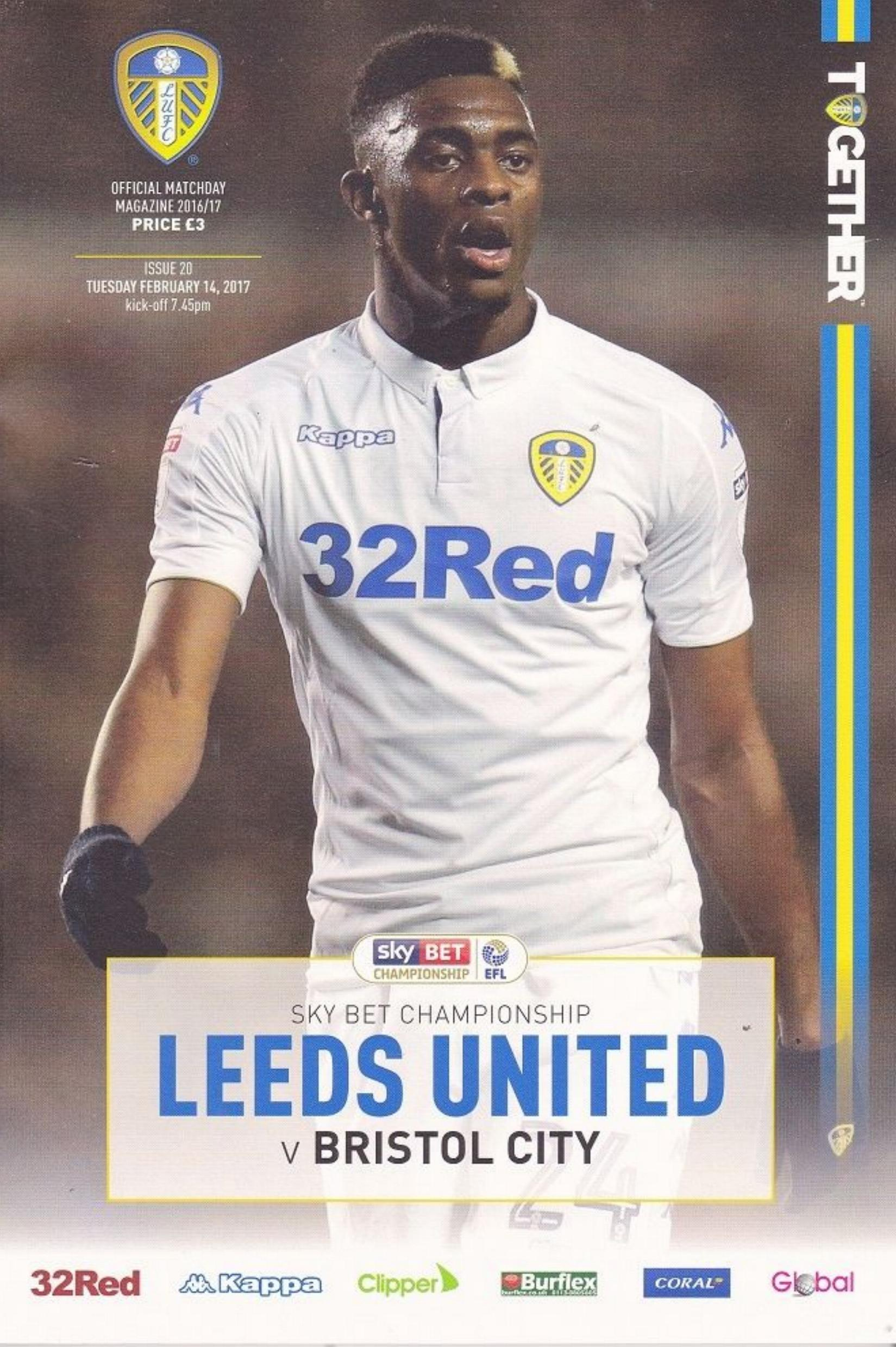 LEEDS UNITED v BRISTOL CITY 2016/17