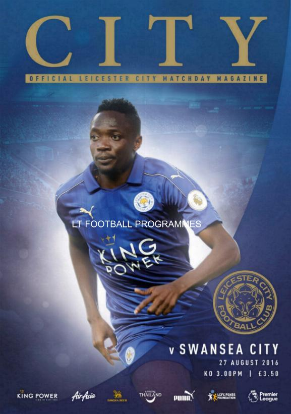LEICESTER CITY v SWANSEA CITY 2016/17